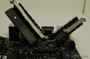 MOSFET Heatsinks Removed