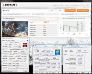 3DMark (Fire Strike) Extreme - 5,897