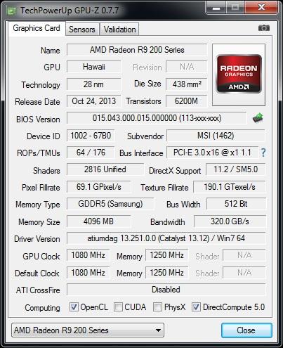 GPUz v 7.7