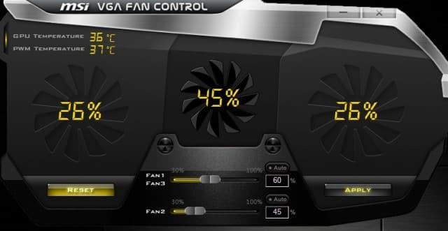 MSI Fan Controller