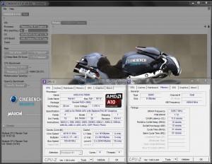 Cinebench R10 @ 4.5 GHz