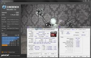 Cinebench R11.5 @ 4.0 GHz
