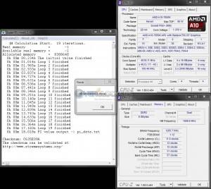 SuperPi 1M @ 4.0 GHz