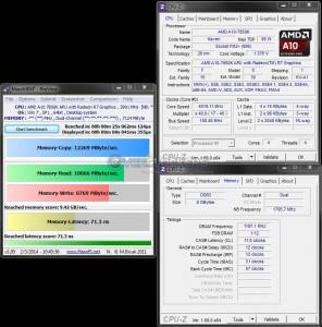 MaxxMEM Benchmark @ 4.0 GHz