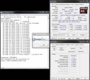 SuperPi 1M @ 4.7 GHz