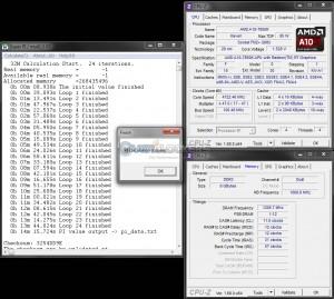 SuperPi 32M @ 4.7 GHz