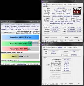 MaxxMEM Benchmark @ 4.7 GHz