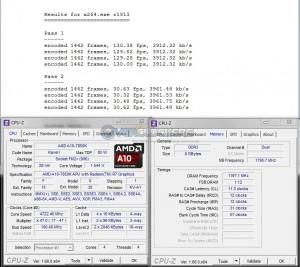 x264 Benchmark @ 4.7 GHz