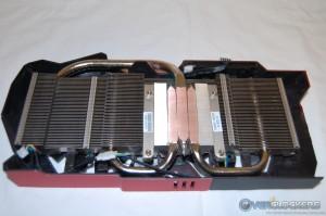 DirectCU II Cooler - Heatpipes and Fin Stack