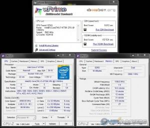 wPrime 32M & 1024M @ 4.6 GHz