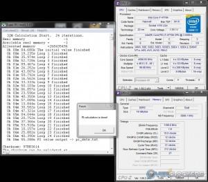 SuperPi 32M @ 4.6 GHz