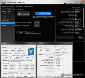 Intel XTU @ 4.6 GHz