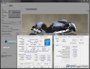 Cinebench R10 @ 4.6 GHz