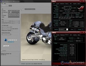 Cinebench R10 @ Stock / 2400 MHz Memory