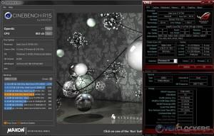 Cinebench R15 @ Stock / 2400 MHz Memory