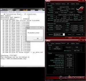 Super Pi 1M @ Stock / 2400 MHz Memory
