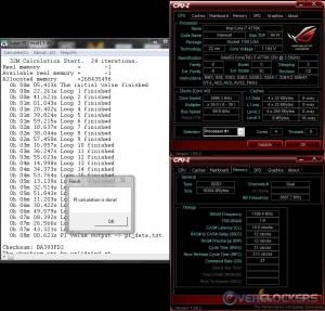 SuperPi 32M @ Stock / 2400 MHz Memory