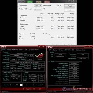 7-Zip @ Stock / 2400 MHz Memory