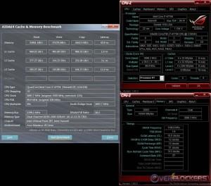 Cache & Mem @ Stock / 2400 MHz Memory