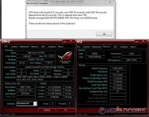 PoV Ray @ Stock / 2400 MHz Memory