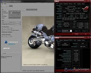 Cinebench R10 @ 4.6 GHz / 2400 MHz Memory