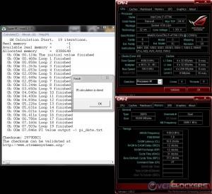 SuperPi 1M @ 4.6 GHz / 2400 MHz Memory