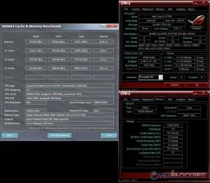 Cache & Mem @ 4.6 GHz / 2400 MHz Memory