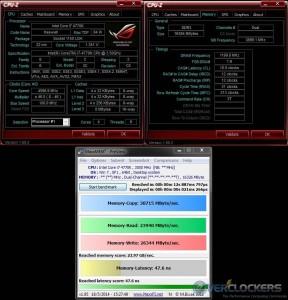 MaxMEM @ 4.6 GHz / 2400 MHz Memory