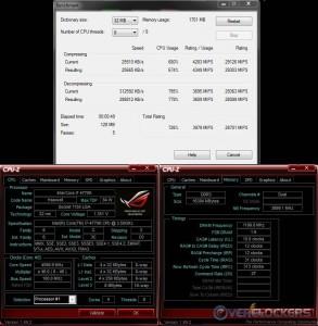 7-Zip @ 4.6 GHz / 2400 MHz Memory