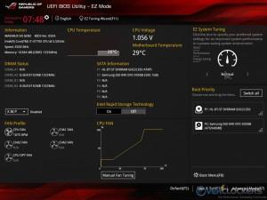 EZ Mode UEFI BIOS