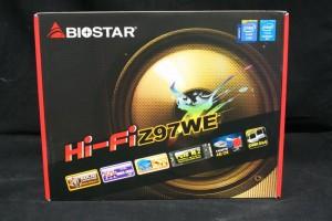 Biostar Hi-Fi Z97WE - Retail Packaging (Front)