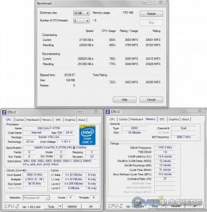 7Zip @ Stock / 2400 MHz Memory