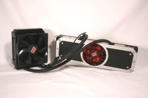AMD R9 295 x2 - Front
