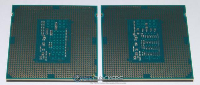 i7 4770K on Left - i7 4970K on Right