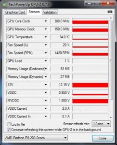 GPUz Monitoring