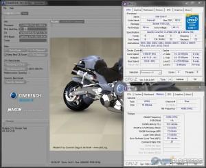 Cinebench R10 @ 4.4 GHz / 2400 MHz Memory