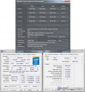 AIDA64 Cache & Memory @ 4.4 GHz / 2400 MHz Memory