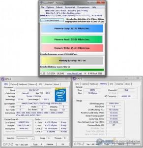 MaxxMEM @ 4.4 GHz / 2400 MHz Memory