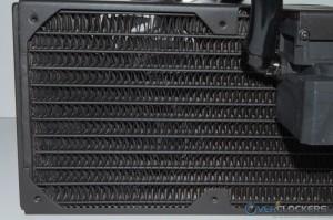 Radiator Fins Up Close