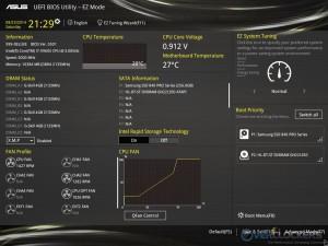 UEFI BIOS - EZ Mode Screen