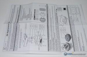 Instruction Sheet Page 1