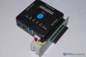 "2.5"" IDE Adapter Board Installed"