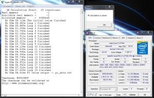 SuperPi 1M – 4.5 GHz