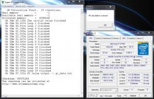 SuperPi 1M – 4.9 GHz