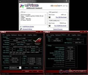 wPrime @ 4.8 GHz CPU / 2400 MHz Memory
