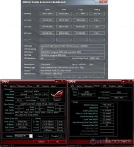 AIDA64 Cache & Memory @ 4.8 GHz CPU / 2400 MHz Memory