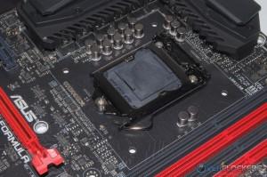 CPU Socket area