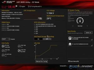 EZ Mode Screen
