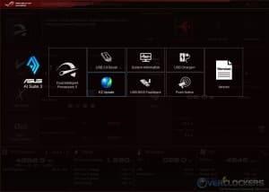 AI Suite 3 Main Screen
