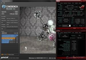 CB R11.5 @ 4.4 GHz CPU / 2400 MHz Memory